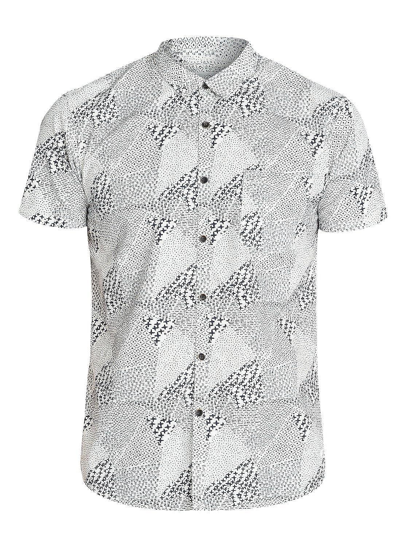 Quiksilver Mens Excess Short Sleeve Shirt