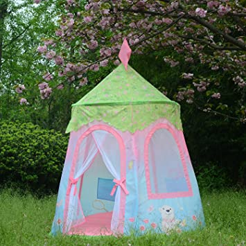 Goodsmann Princess Castle Tent Fairy Princess Castle Tent - Portable Play Tent For Girls - & Amazon.com: Goodsmann Princess Castle Tent Fairy Princess Castle ...