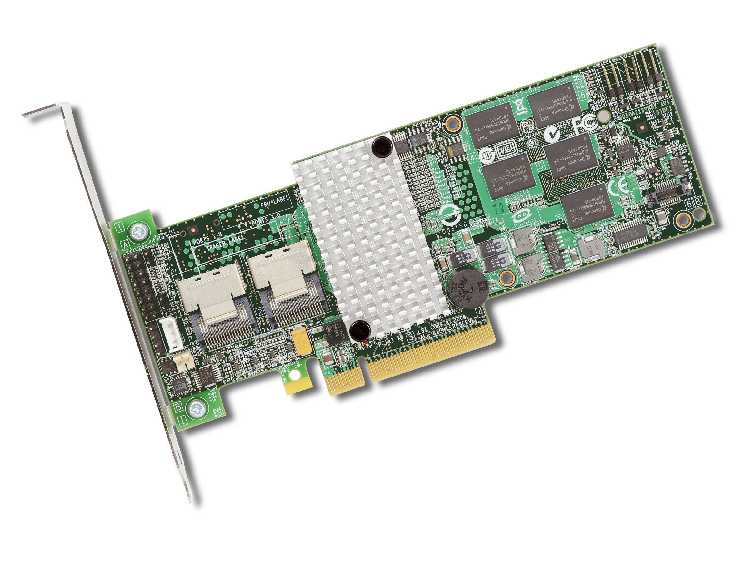 LSI Logic SAS9260-8I SGL Raid 8PORT Int 6GB SAS/sata Pcie 2.0 512MB by LSI Logic