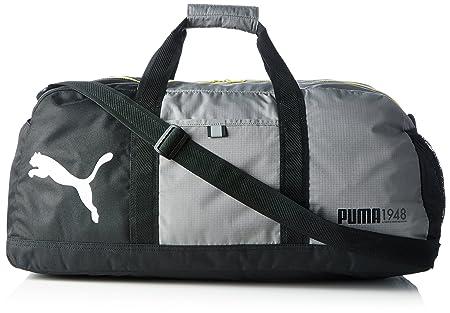 PUMA Sporttasche Fundamentals Bag M, Steel Gray, 61 x 29 x 31.5 cm, 54  Liter, 072575 06