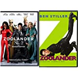 Zoolander + Zoolander No. 2 DVD double feature Comedy Set