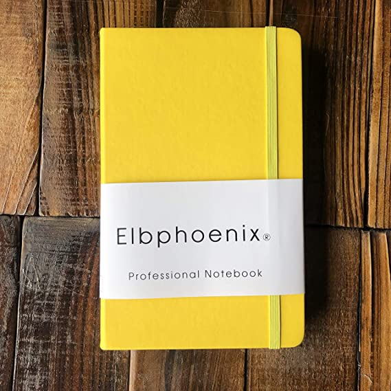 Elbphoenix® Klassisches NotizbuchBullet Journal A5 Dotted