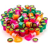 """4E's Novelty 48 Pack Bulk Mini Noise Putty Assortment, Great Birthday Party Favors Supplies, for Kids Boys Girls, 1.25"""" Great Gag Gift"""