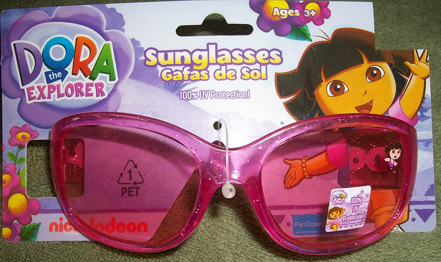 Amazon.com: Dora the Explorer Childrens Sunglasses by Nick ...