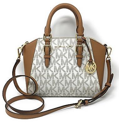 106da35cce9a8 ... italy michael kors ciara medium messenger bag vanilla acorn fcb44 10624  ...