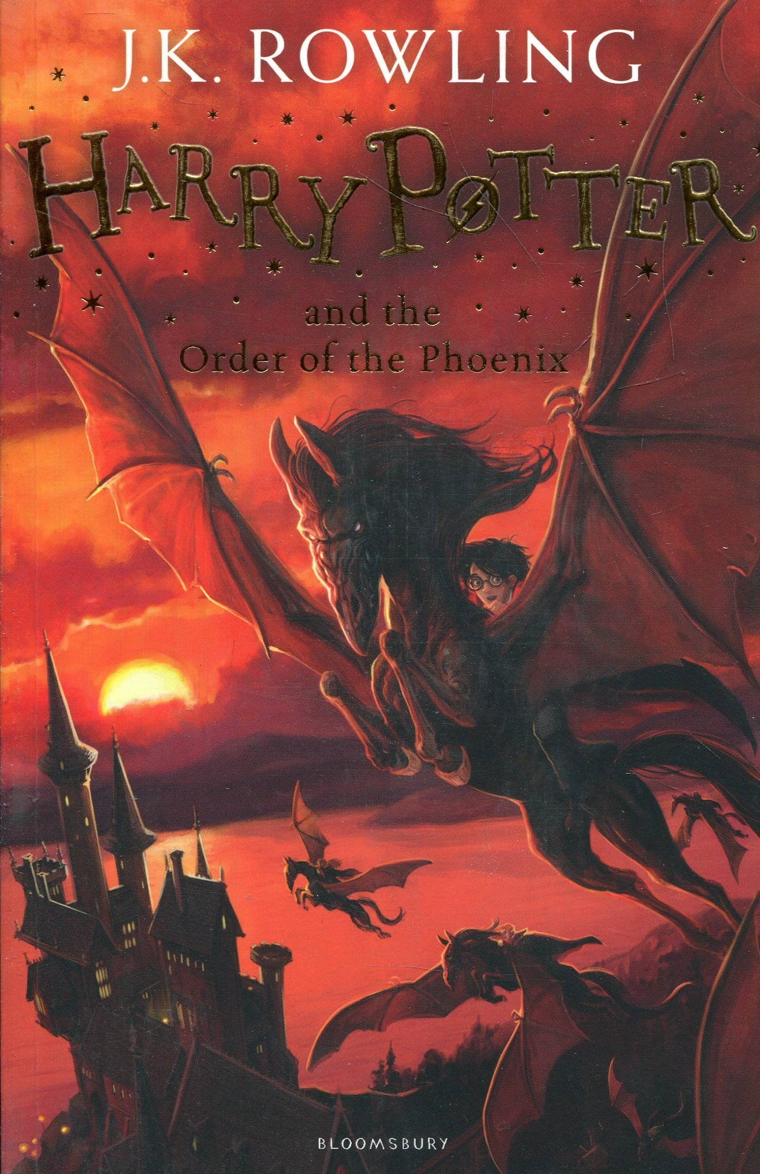 Harry Potter and the Order of the Phoenix: 5/7 Copertina flessibile – 1 set 2014 J.K. Rowling 1408855690 Interest age: from c 9 years Fantasy