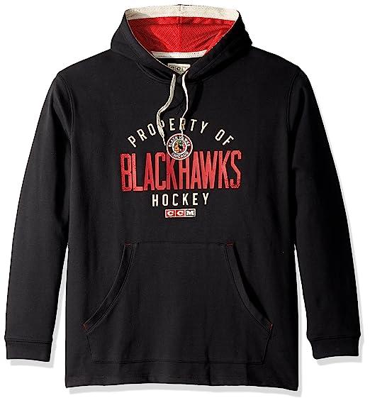 adidas NHL Mens Centennial CCM Tacks Pullover Hockey Hood