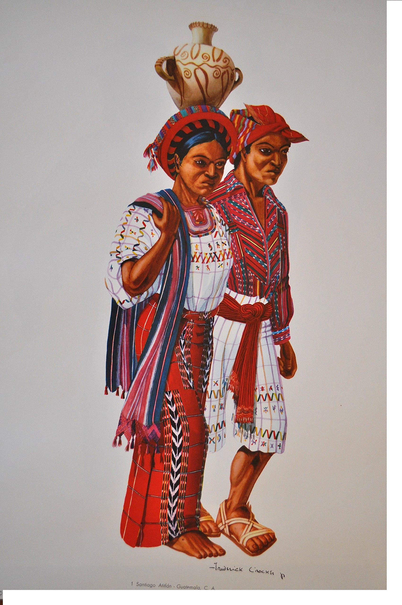 Trajes de Guatemala. Tomo 1 y Tomo 2: Frederick Crocker jr ...