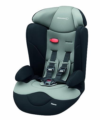 Bébé Confort Trianos - Silla de coche grupo 1/2/3, desde 9 hasta 36 kg, color negro