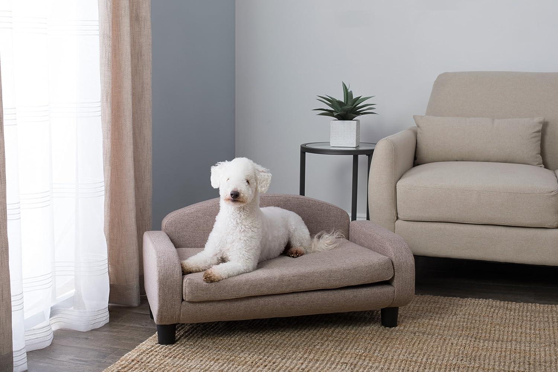 Amazon.com: Paws & Purrs Sofá cama tapizado para mascotas ...