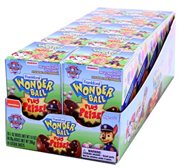 Amazon Com Frankford Candy Company Paw Patrol Wonder Ball Plus