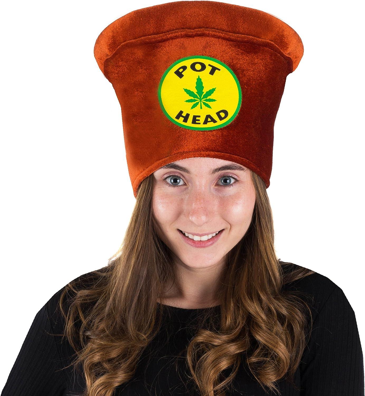 Stoner Costume Accessories Weed Costume Costume Hat Marijuana Hat Tigerdoe Pot Head Costume Novelty Hats