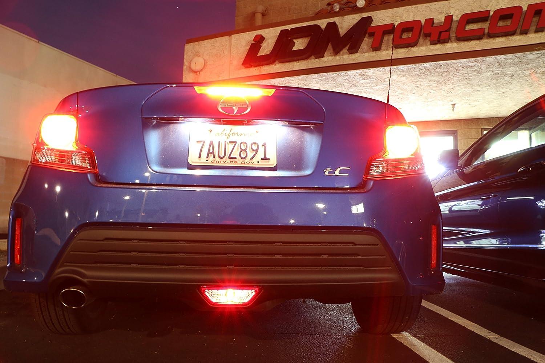 Amazon.com: iJDMTOY Super Bright Brilliant Red LED Conversion Kit For  2014-2016 Scion tC Rear Fog Light Assy: Automotive