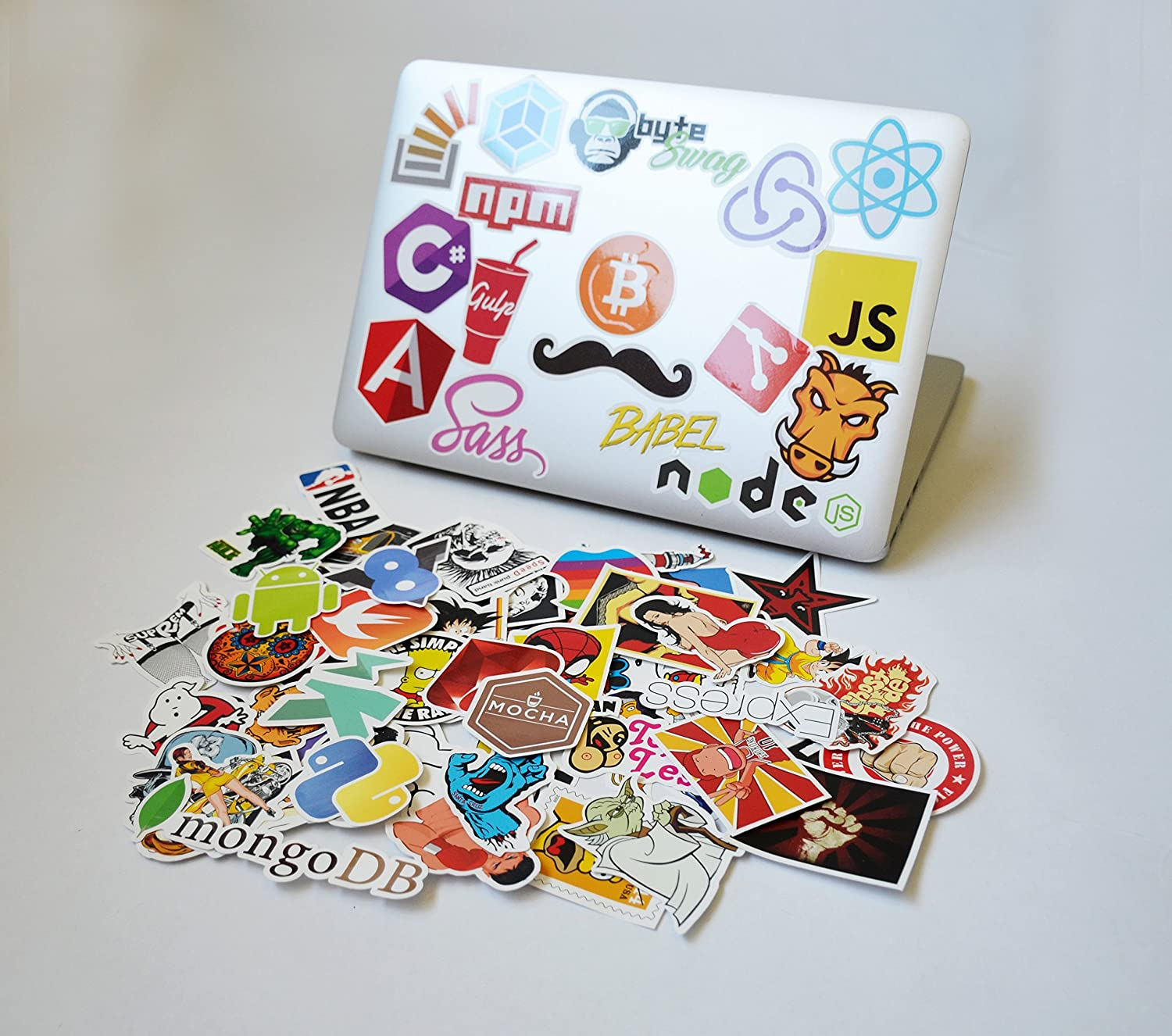 Laptop stickers for Software Developers, Engineers, Hackers, Programmers, Geeks, and Coders