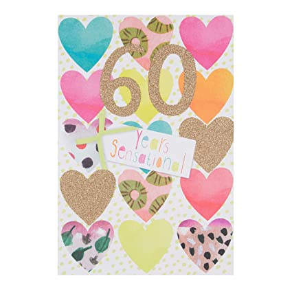 Tarjeta de 60 cumpleaños Hallmark