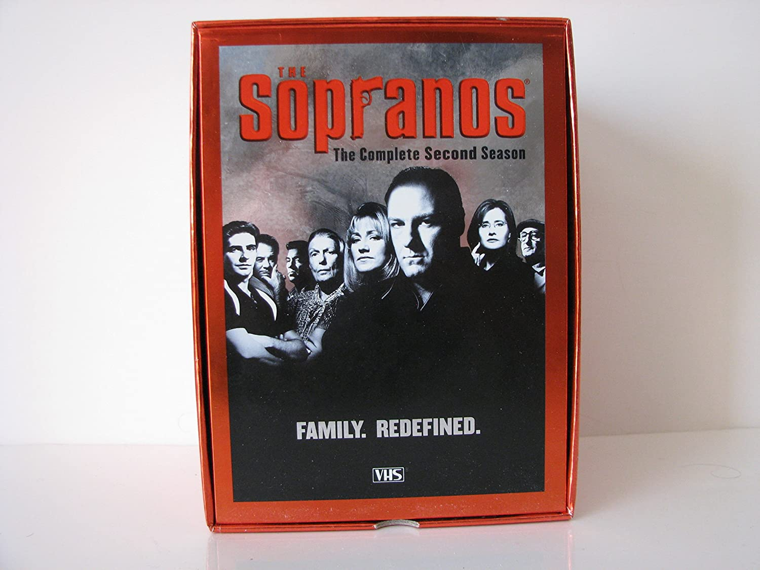 Amazon.com: THE SOPRANOS Season 2 The Complete 2nd Season VHS 5 Cassettes Upgraded Boxed Set: James Gandolfini, HBO PRODUCTIONS: Movies & TV