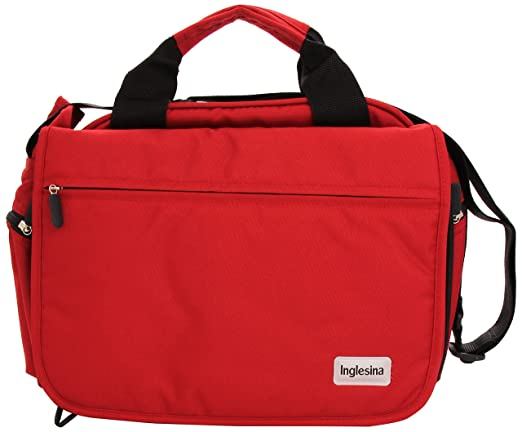 542 opinioni per Inglesina AX90D0RED My Baby Bag Borsa Fasciatoio, Rosso (Red)