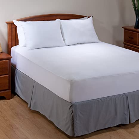 Agua Caliente AllerEase Lavable alergia Protector de colchón para incontinencia: Amazon.es: Hogar