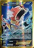 carte Pokémon 123/122 Léviator Ex 180 PV - SECRET RARE - FULL ART XY - Rupture Turbo NEUF FR