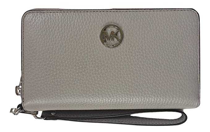 86866cdc44e0 Image Unavailable. Image not available for. Colour  Michael Kors Fulton  Large Flat Multifunction Leather Phone Case ...