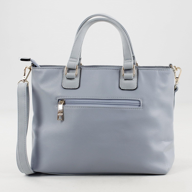 Bolso de mano para Mujer, 22x12x31.5 cm Azul Eferri 0JV5902 W x H x L