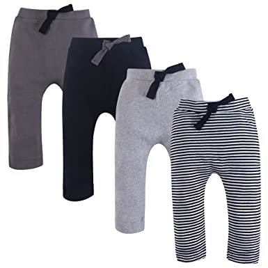 b48fa20a78f7 Amazon.com  Touched by Nature Baby Girls  Organic Cotton Pants  Clothing