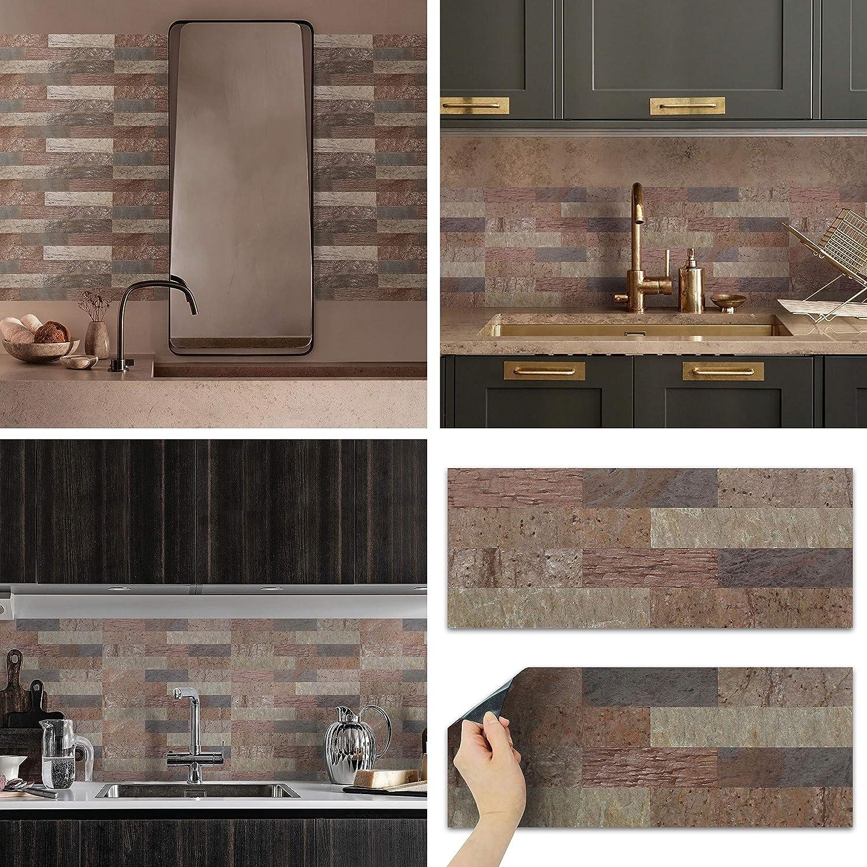- Amazon.com: Real Stone Tile Sticker Peel Stick And Enjoy (1