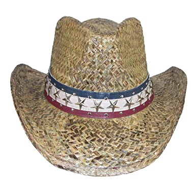 fb15db1f51491 DPC Outdoor Design Men s Outback Hat with Shapeable Brim and Star Hatband  at Amazon Men s Clothing store