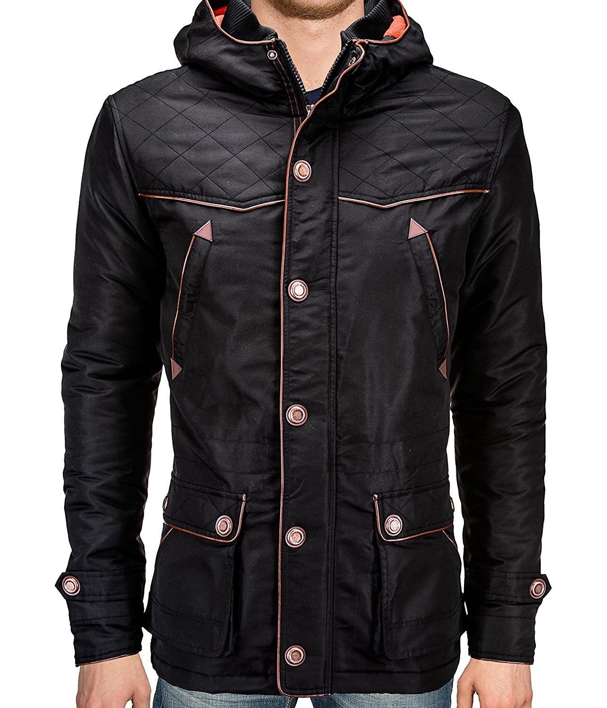 BetterStylz Men's Parka Jacket multi-coloured multicoloured