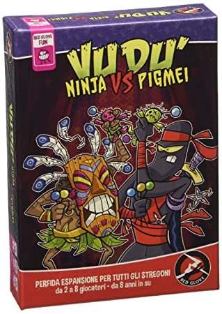 Red Glove - Ninja Vs pigmei, Expansión para vudú: Amazon.es ...