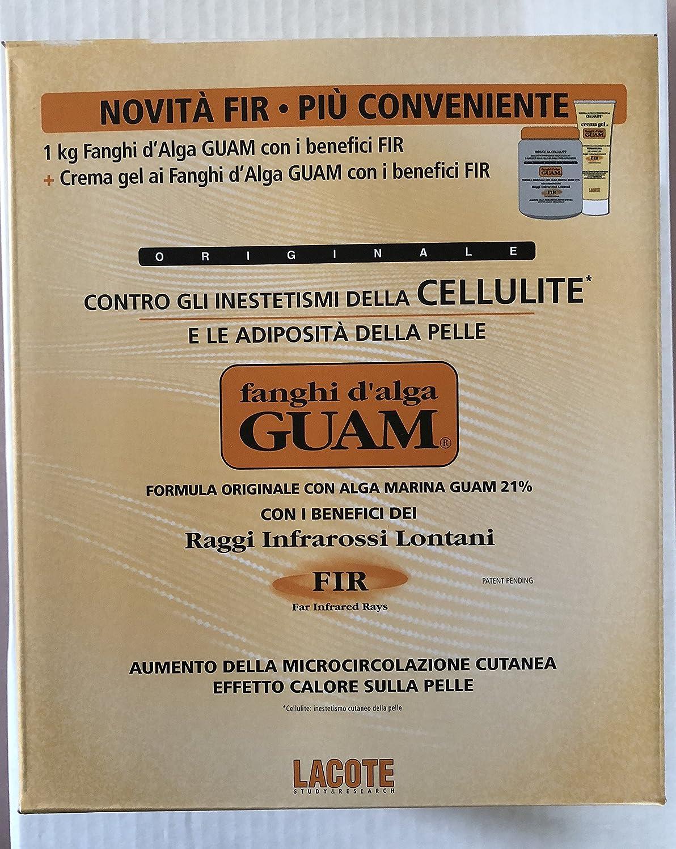 Fanghi d'Alga GUAM FIR CONVENIENZA CLASSICO 1kg + Crema Gel 250ml