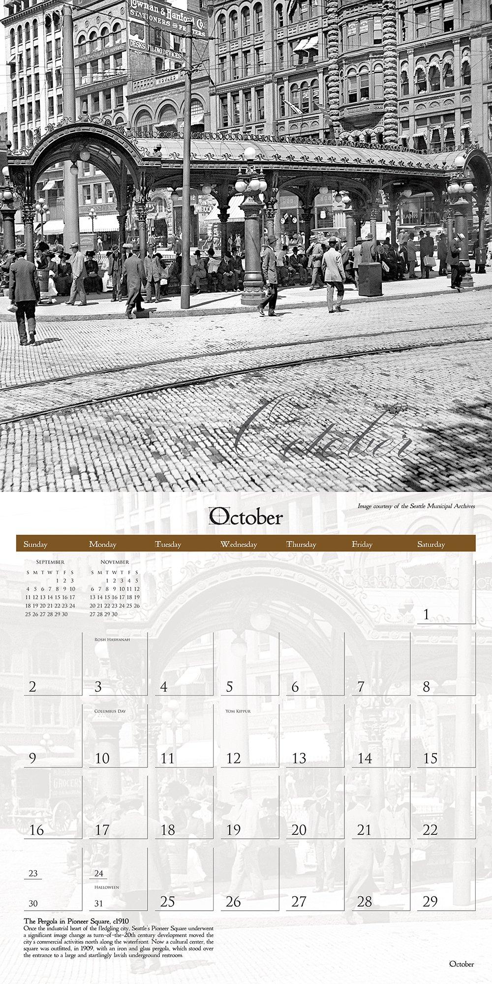 Historic Seattle 2016 Calendar: Historic Pictoric: 9781680110289:  Amazon.com: Books