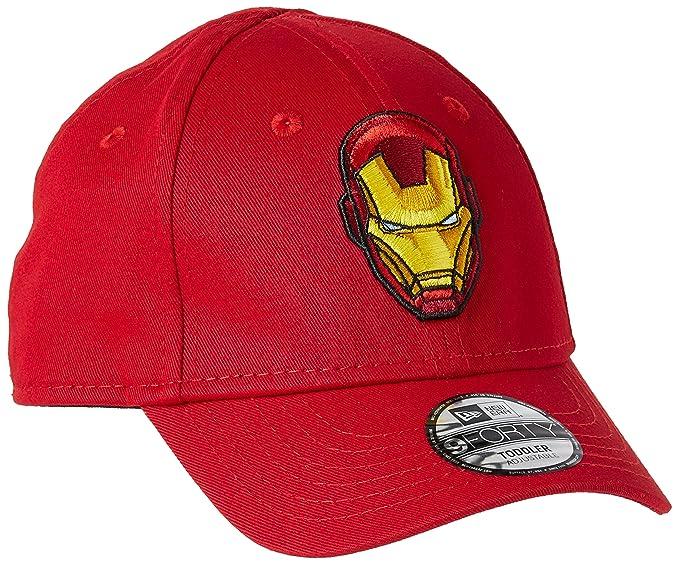 Amazon.com  New Era Marvel Iron Man Hero Essential 9Forty Strapback ... 06001fa4f09