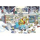 Jumbo 17307 Wasgij Christmas 9: A Bright Christmas Night Puzzle - 1000 Pieces