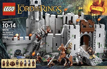 LEGO The Lord Of Rings 9474 Battle Helms Deep Discontinued By Manufacturer