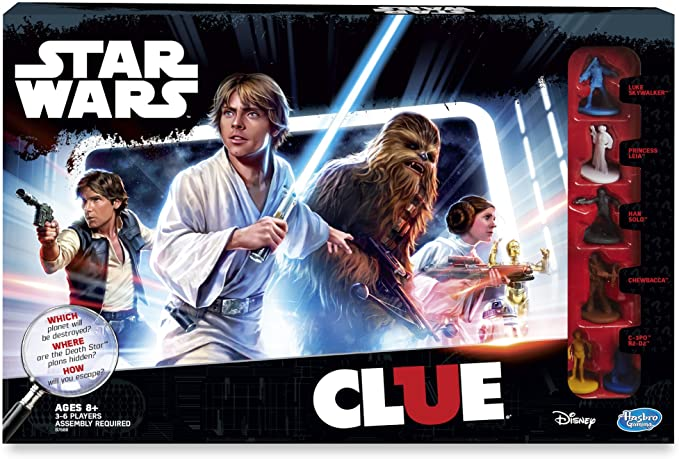 Star Wars Clue Board Game: Amazon.es: Juguetes y juegos