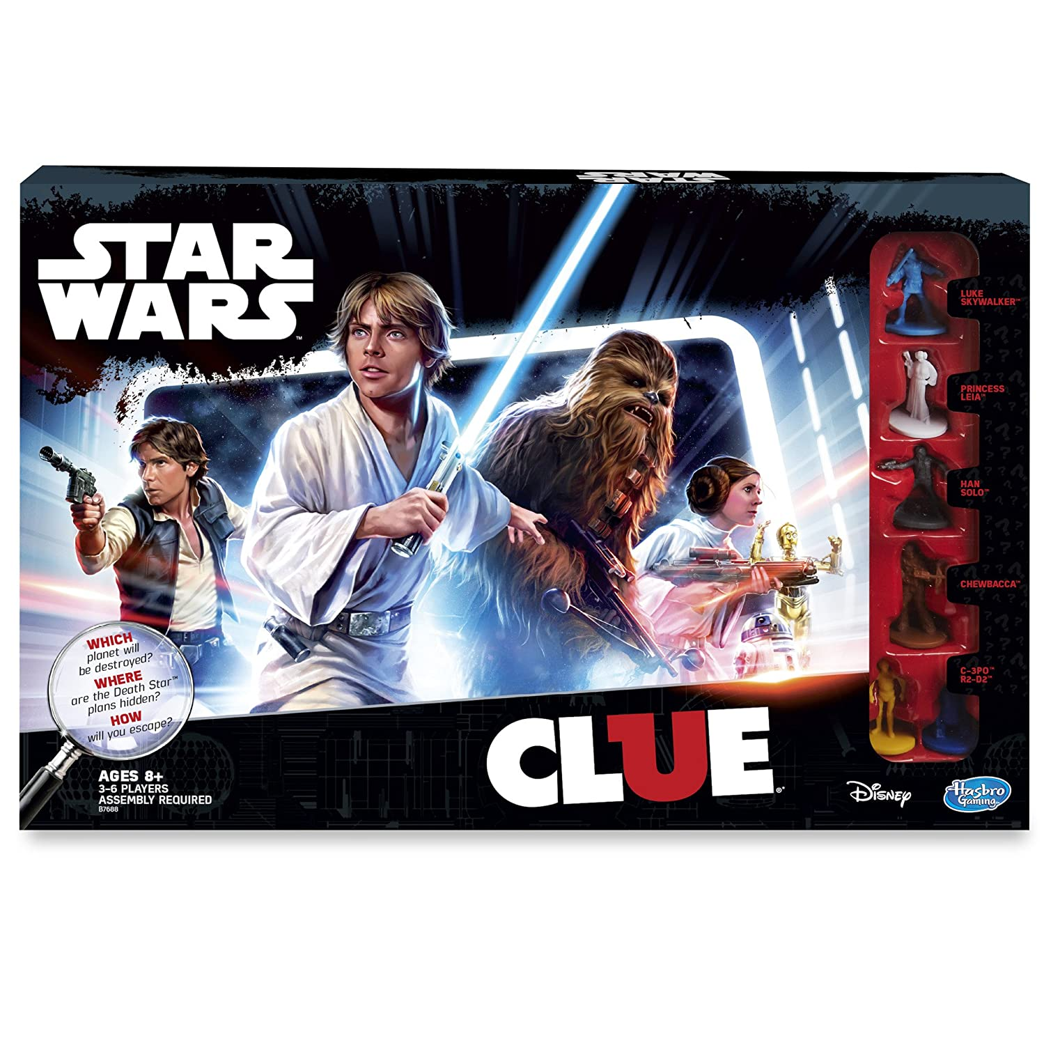 Star Wars Edition Clue Game