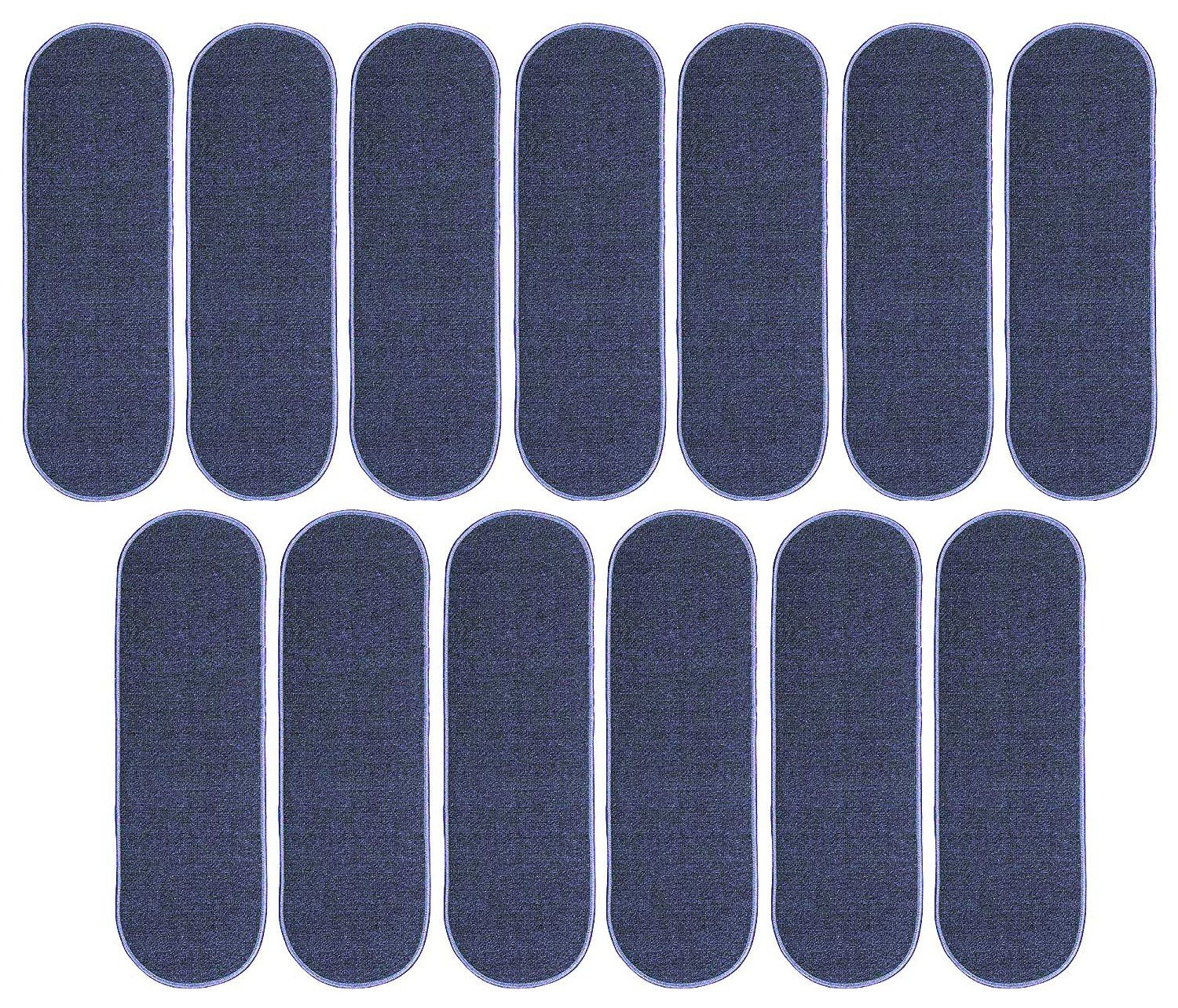 Ambiant Indoor Outdoor StairThreads Violet 8'' x 30'' Oval (set of 13) - Area Rug