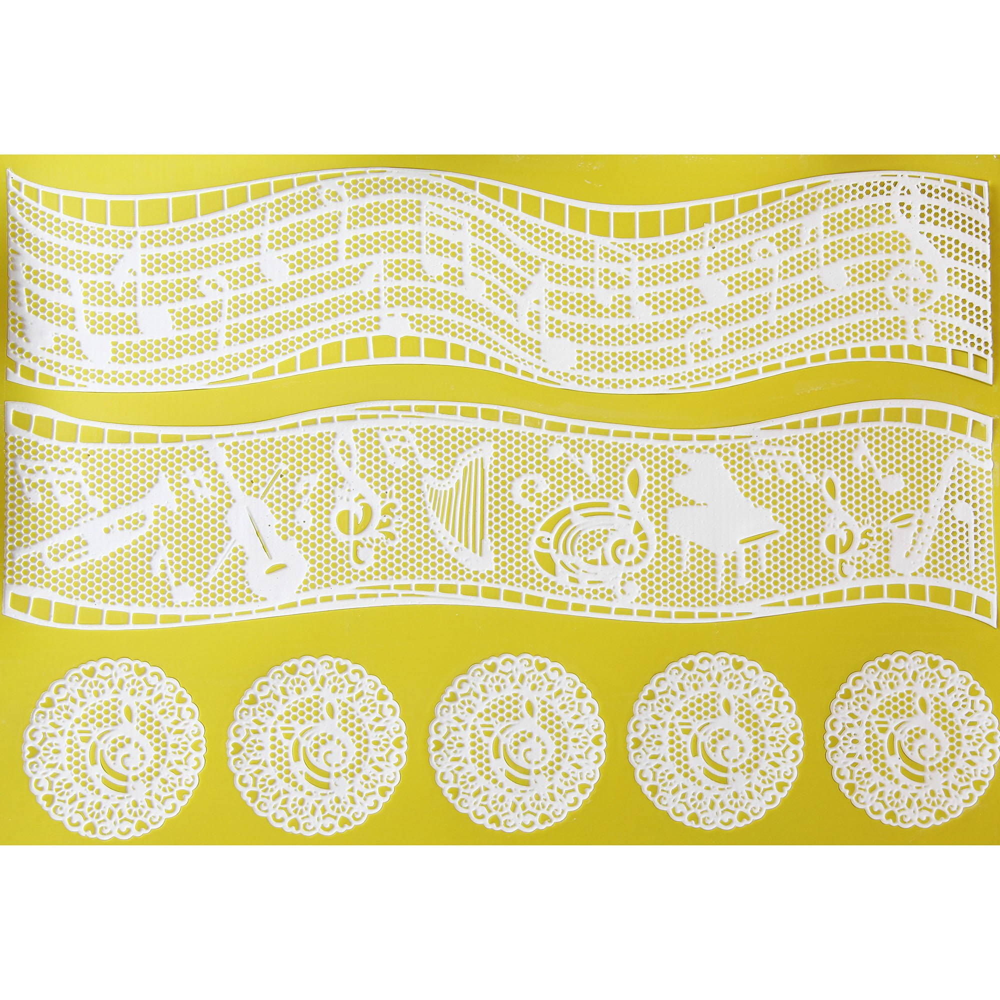 Music Themes Silicone Lace Mat by Chef Alan Tetreault