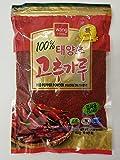 Wang PREMIUM Korean Red Chili Pepper Flakes Powder Gochugaru, 1 Pound