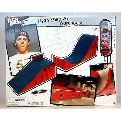 Spin Master Tech Deck 6012801 - Tecnología Big Deck Sheckler Park - Ryan Sheckler - Diapasón Originales: Juguetes y juegos