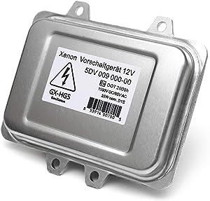 Replacement 5DV 009 000-00 Xenon HID Ballast Headlight Control Unit Module for BMW, Mercedes, Cadillac, Jaguar, Volkswagen, Lincoln, Chrysler, Saab, Hyundai - Warranty