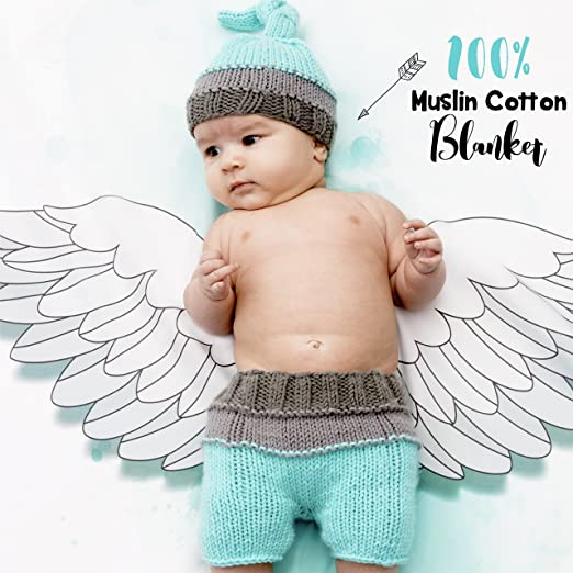 Amazon.com: Milestone bebé Swaddle Manta para para fotomatón ...