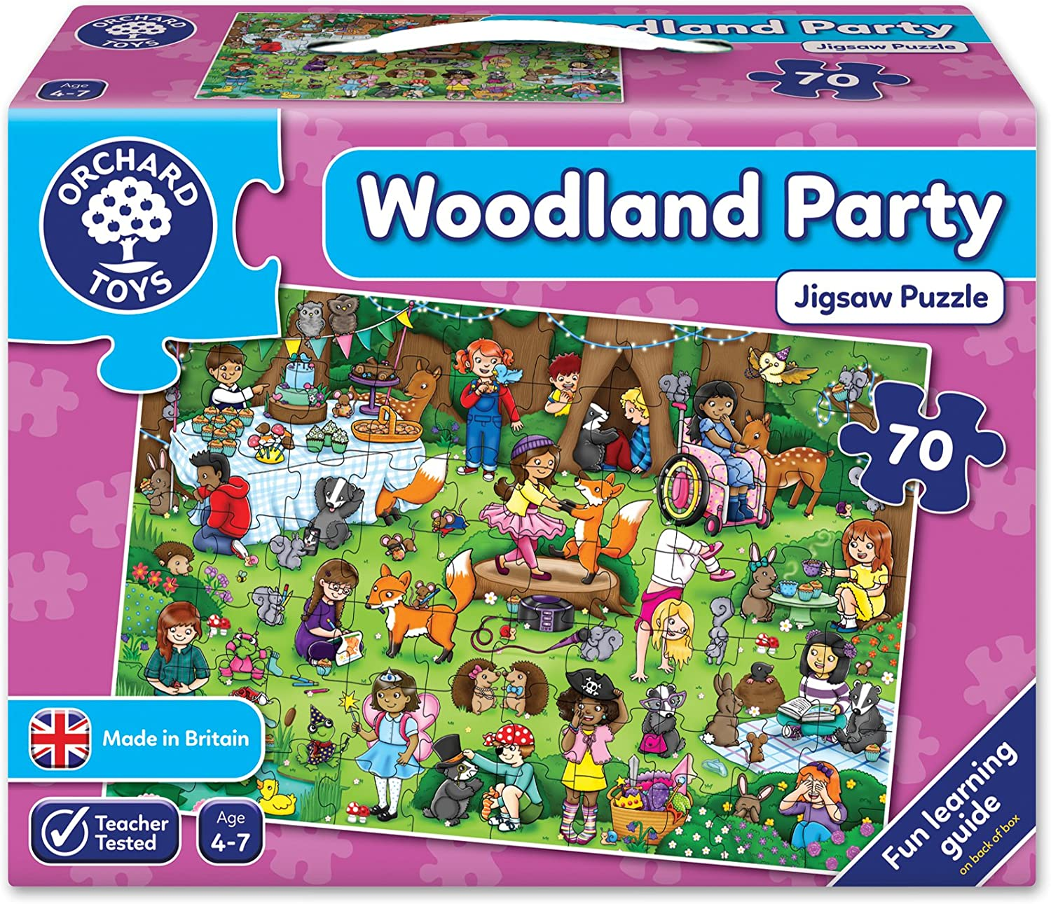 Fun Educational Game Orchard Toys Party Party Party