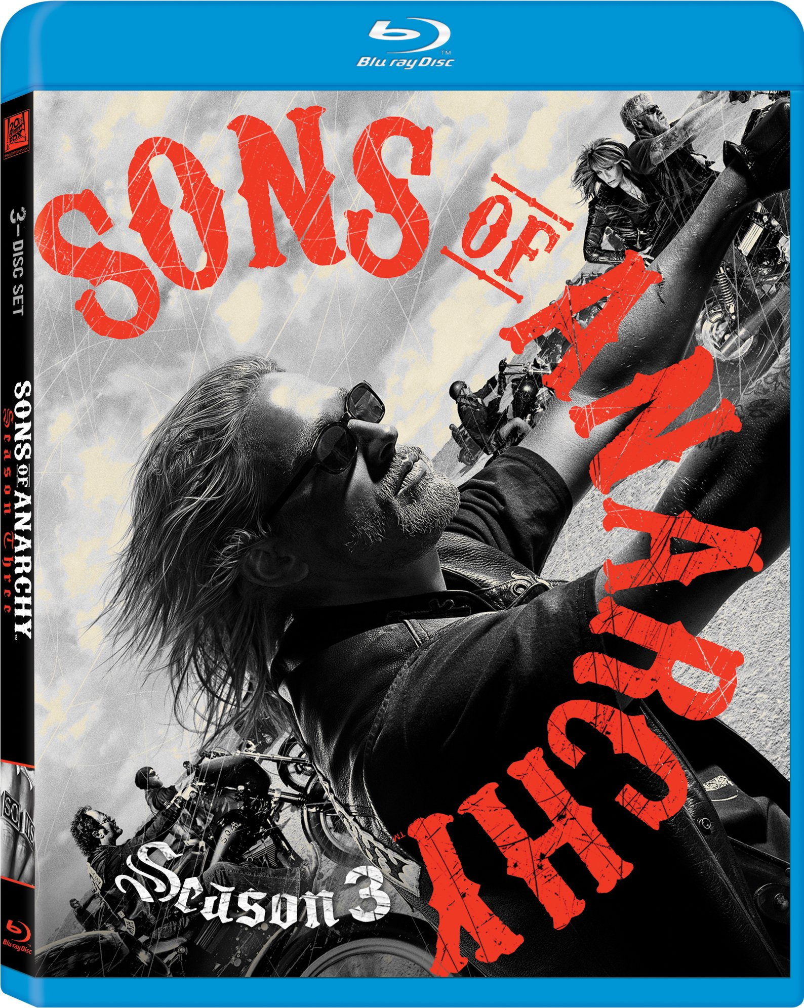 Blu-ray : Sons Of Anarchy: Season 3 (Widescreen, Subtitled, Dolby, AC-3, Digital Theater System)