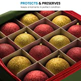 Christmas Ornament Storage Box With Lid - Protect