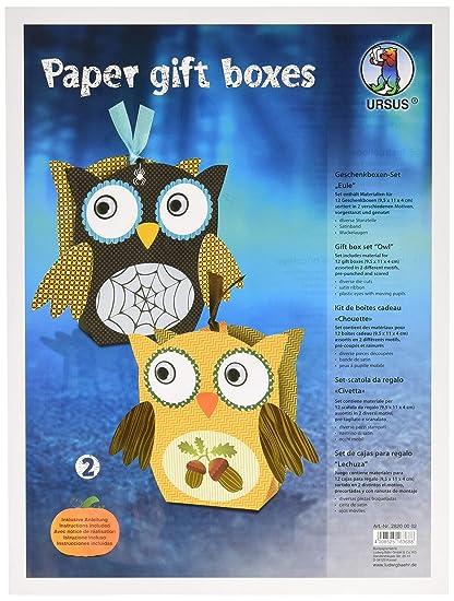 URSUS 28200002 Paper Gift Boxes - Set di 2 scatole Regalo