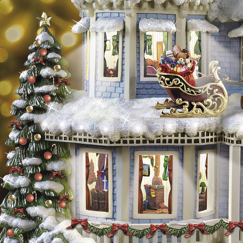 The Bradford Exchange Twas The Night Before Christmas  Story