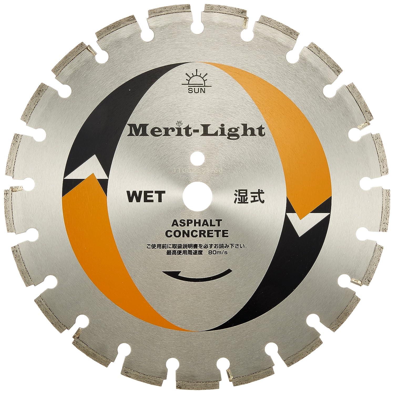 旭ダイヤモンド工業 コンクリートカッター メリット ライト 14インチx3.0x27 B01LWQDCAU