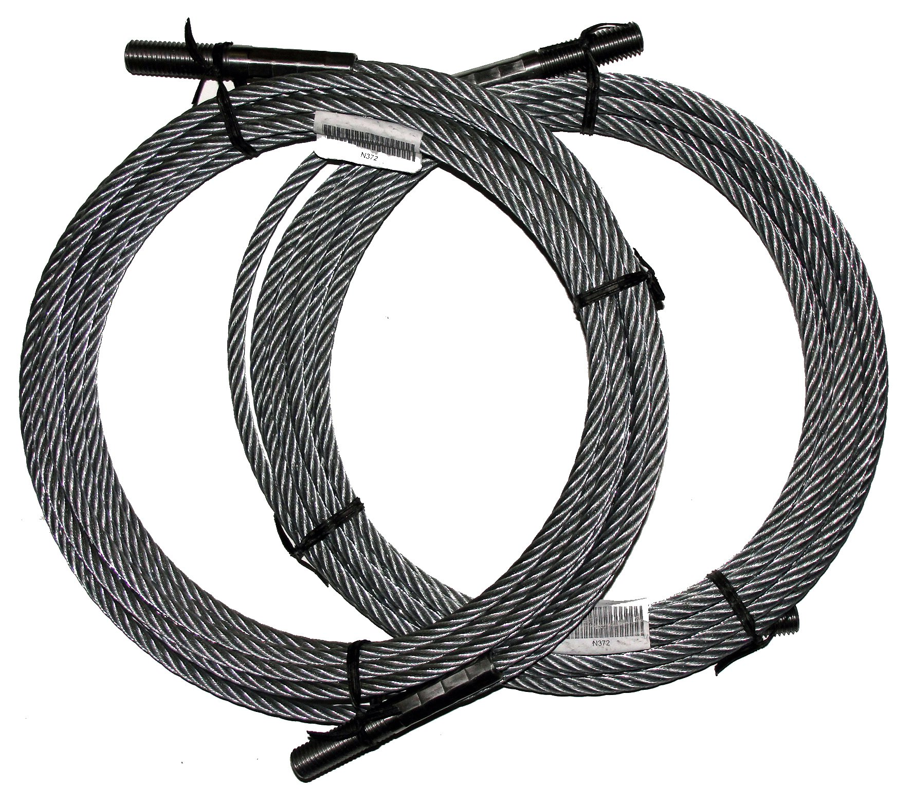 Set Of (2) Rotary Lift SPOA10 Equalizer Cable #N372 by Rotary
